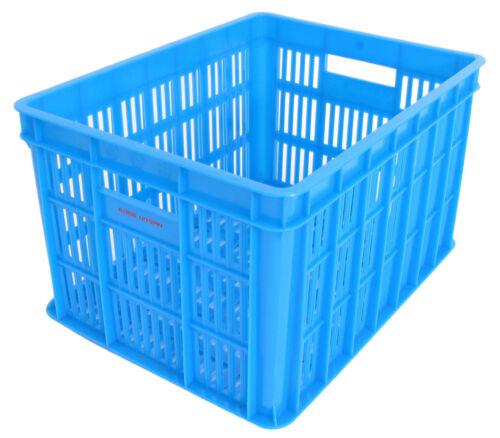 Medium Blau Kunstoff Fahrradkasten Edge Urban Crate