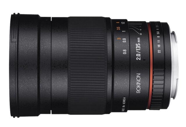 Samyang 8 mm//3,5 UMC fish-Eye II lente para Samsung NX artículo nuevo negro