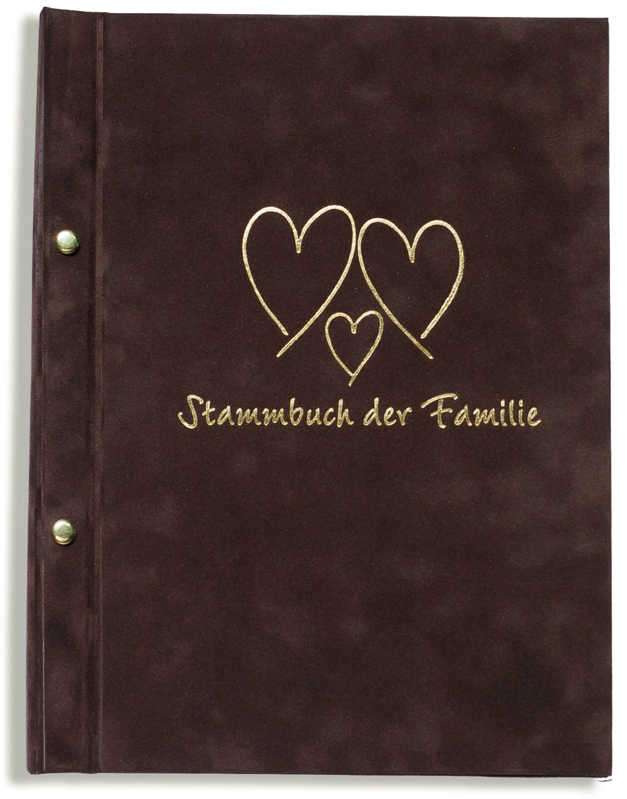 A4 Stammbuch der Familie -Tregran-, braun, Familienstammbuch, Stammbücher DIN A4 | Elegantes Aussehen  | Einfach zu bedienen  | Marke