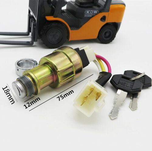 Forklift Ignition Original Start Switch JK4113 Line For HELI Long Gong 1-10T