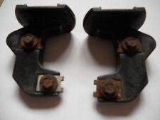 bmw e39 front bumper brackets x 2, genuine, inc 4 screws.