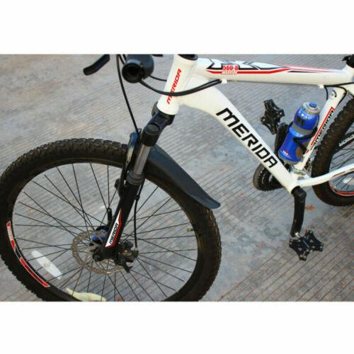 Fahrrad Schutzbleche Mountainbike Schutzblech Set Vorne Hinten Spritzschutz MTB