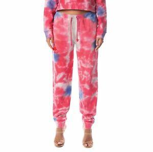 Kappa AUTHENTIC CASSIA TIE DYE Pant Track sweat Jogger Logo Fleece~Women sz L~NW