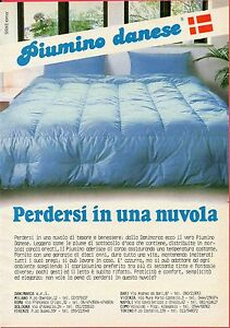 Pubblicità Advertising Werbung 1988 Piumino danese | eBay