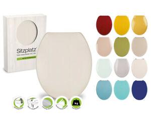 WC Sitz direkt vom Badprofi, 11 Farben, Toilettendeckel mit Absenkautomatik