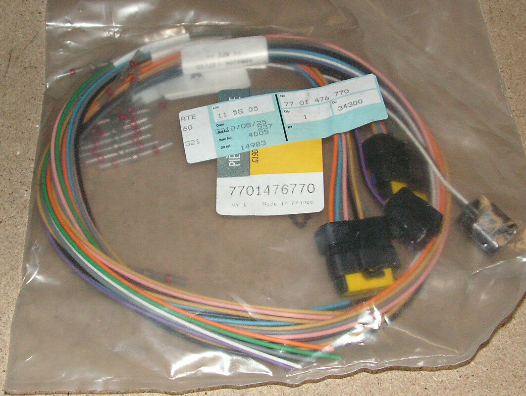 Genuine Renault Modus Loom Repair Kit Part 7701476770 Ebay Wire Harness Tubing Norton Secured Powered By Verisign