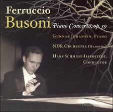 Busoni: Concerto for Piano,Orchestra with Men's Chorus, New Music