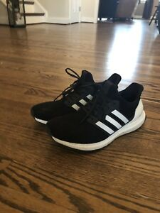 92186ff349eaf Men s Adidas Ultra Boost 4.0 Show Your Stripes Black White AQ0062 ...