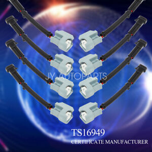 details about lq4, lq9 4 8 5 3 6 0 delphi wire harness to ls2 ls3 ls7 ev6  injector adapters