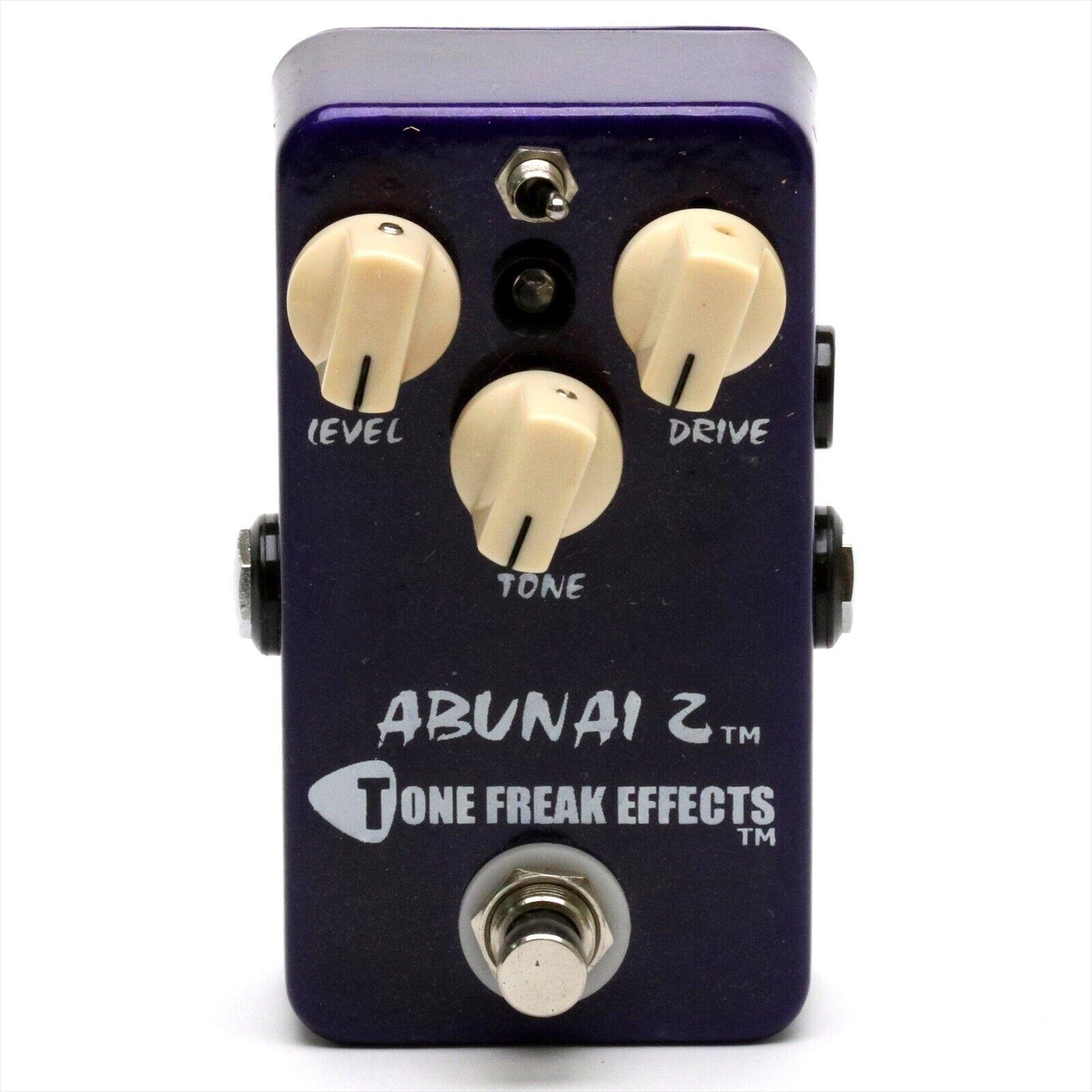 TONE FREAK EFFECTS ABUNAI 2 Guitar Effect Pedal Made in USA