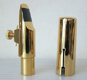 New-14K-Gold-Plated-Alto-Saxophone-Mouthpiece