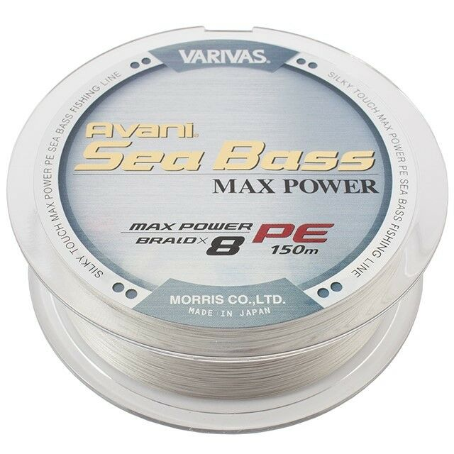 Varivas Avani Sea Bass MAX POWER PE 150 m