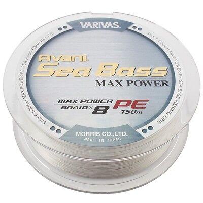 Varivas Avani Seabass PE Max Pwer Tracer 150m BNIB