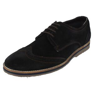 f30000f74a7 Image is loading Hush-Puppies-H104698-Sebastian-Wingtip-Navy-Brogue-Shoes-