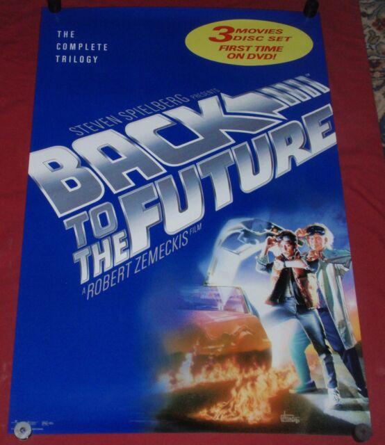 """Fox Back To The Future Movie Poster ** Michael J Delorean 24/"""" x 36/"""""""