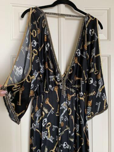 maatwerk Gelaque zijde jurk 1550originele Kasia De prijs Dg materiaal xeCBdro