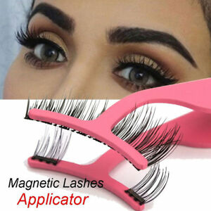 e4eab6c7b71 Image is loading Pro-False-Eyelashes-Extension-Applicator-Remover-Clip- Tweezer-