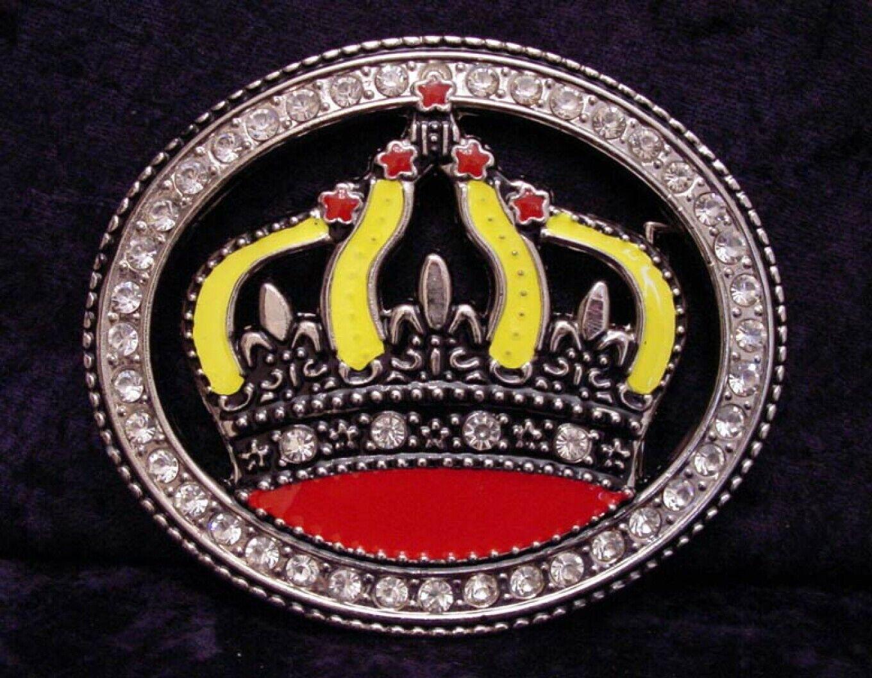 Buckle With Crown, Royal, King, Crown, Belt Buckle