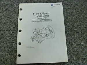 meritor transmission 10 speed
