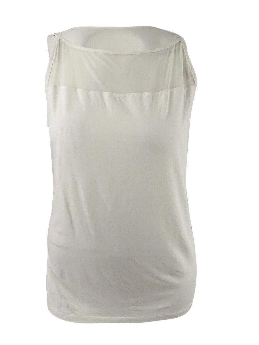Lauren Ralph Lauren Women's Plus Size Jersey Sweater (2X, Cream)