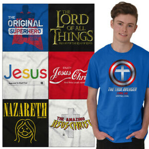 Christian-Tee-Shirt-Religious-T-Shirts-For-Mens-Pop-Culture-Novelty-Gift-Tshirts