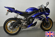 YZF-R6 06-16 Diabolus Polished Stainless Stubby Carbon Outlet Low Slung Exhaust