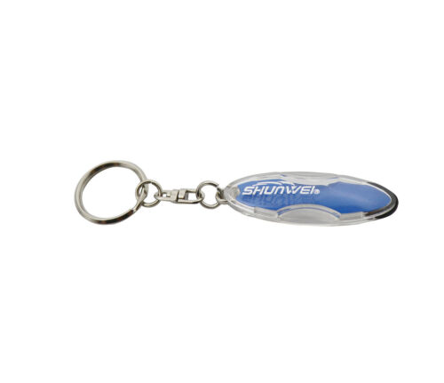 High Voltage car body Anti-Static Static Eliminator Discharger Keychains Keyring