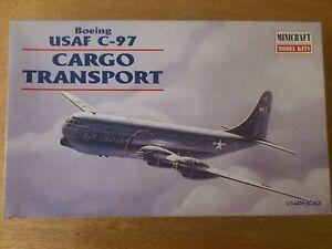 1-144-Minicraft-No-14440-Boeing-USAF-C-97-Cargo-Trasporto-Kit-Conf-Orig
