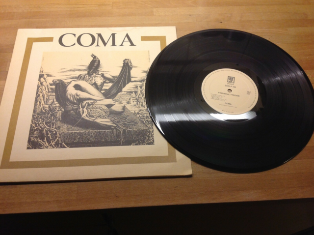 LP, COMA, Financial Tycoon Genlyd GENLP 106   1977, Rock,…
