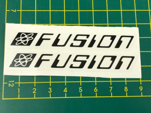 old school bmx decals stickers fusion seat post black clear