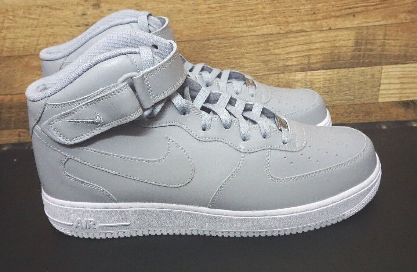 Nike iD Air Force 1 Gray Men's Size 11.5  AQ3774-991