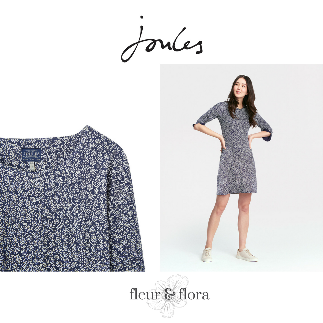 Joules   Juliana Fit and Flare Dress       FREE P&P
