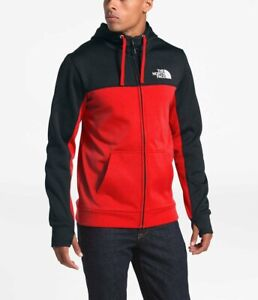 The-North-Face-Mens-Athletic-Surgent-2-0-Bloc-Full-Zip-Thermal-Fleece-Hoodie-L