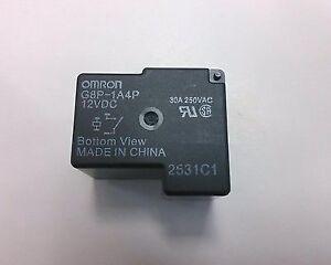 5 pcs of omron g8p 1a4p 12vdc 12v relays relay spst 30a ebay rh ebay com