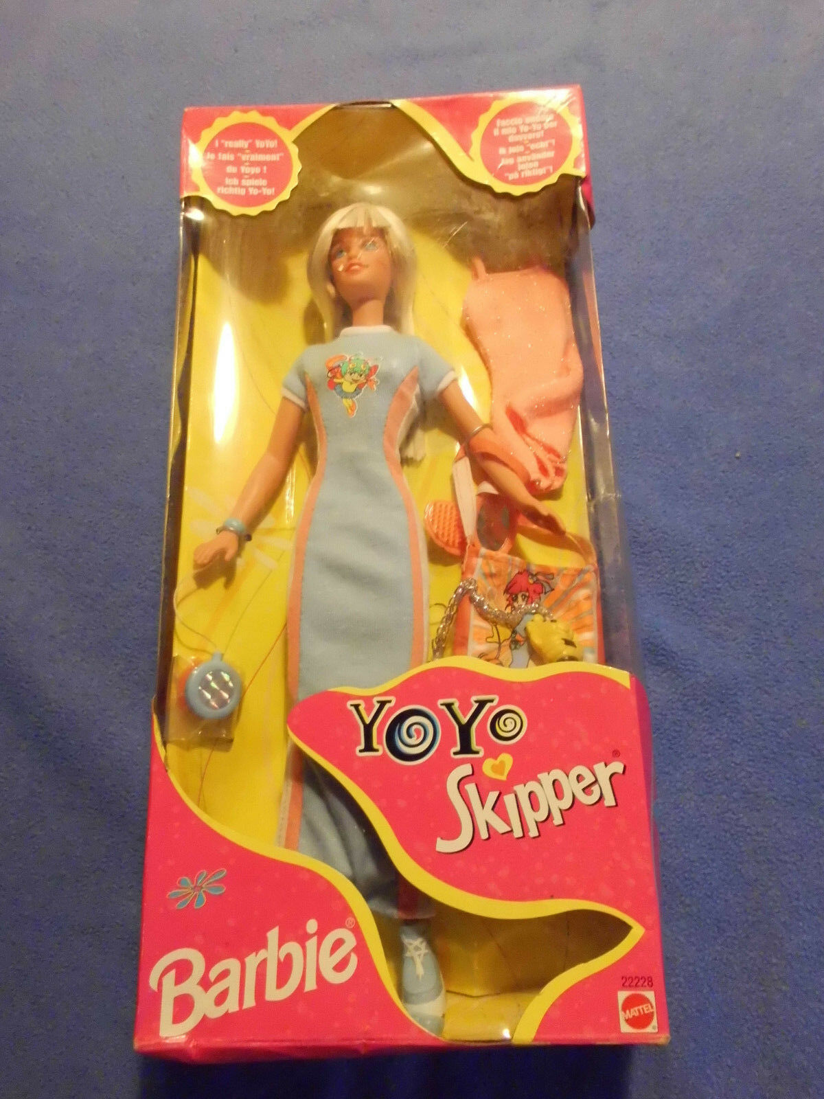 Süpersüße Barbie - YoYo Skipper Puppe in OVP von 1998