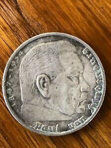 1847 1934 paul von hindenburg coin