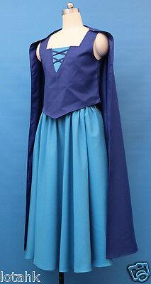 cosplay costume adult dress Vanessa Costume from Little Mermaid