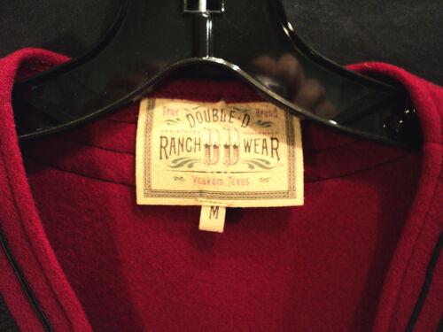 taglia D Double nero med con lana Ranchwear rossa Nwt gilet 6wn07q41n
