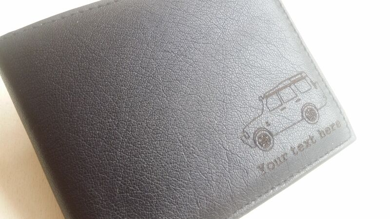 Land Rover Discovery Series 2 personalised Leather Wallet (merchandise gift gift gift ii)    Adoptieren  a17624