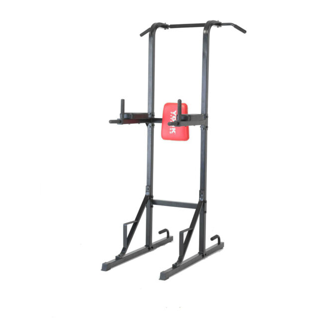 York Workout Vertical knee raise/ VKR Tower - Pull Up/ Dip/ Press Up Station