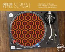 "Overlook Hotel Pattern Turntable Slipmat - 12"" LP Record Player, DJ Slipmat"