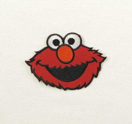 Cartoon Character Retro Iron On Sew On Patch Cookie Elmo Woody Mario Scooby