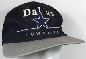 945632e2389 Dallas Cowboys NFL Hat Cap Strap Back Team NFL Vintage Football Star ...