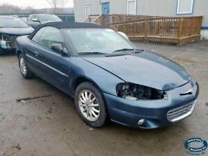 01 02 chrysler sebring convertible fuel filler neck only 293567 ebay ebay