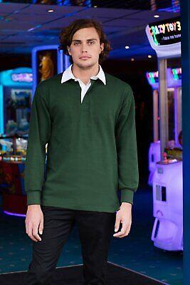 FR01M Long sleeve original rugby shirt