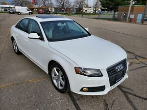 2010 Audi A4 2.0 TURBO QUATTRO- 2 SETS OF RIMS/TIRES- CERTIFIED