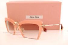 Brand New Miu Miu Sunglasses MU 10Q 10QS UA81L0 Pink/Brown Women