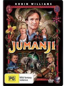 Jumanji-Robin-Williams-Bonnie-Hunt-Kirsten-Dunst-Region-4-very-good