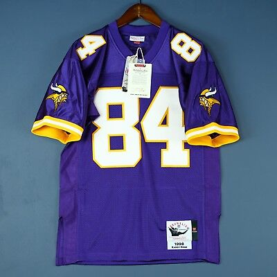 finest selection 7986e 3d2ac 100% Authentic Randy Moss Vikings Mitchell & Ness NFL Jersey ...