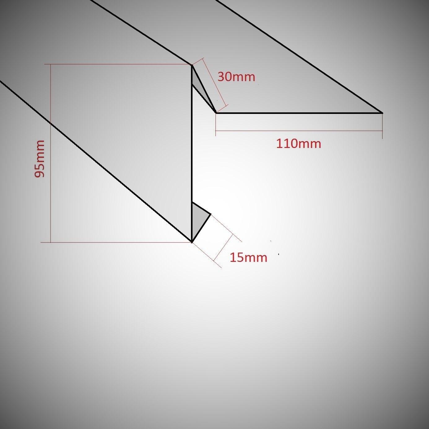 ortgangblech 1m 2m ortgang ortblech flachdach dachblech. Black Bedroom Furniture Sets. Home Design Ideas